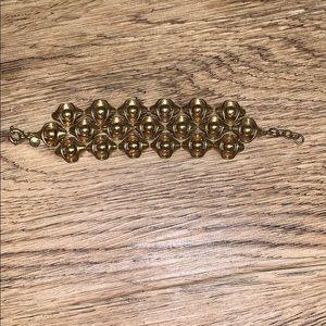 J Crew Gold Toned Bracelet